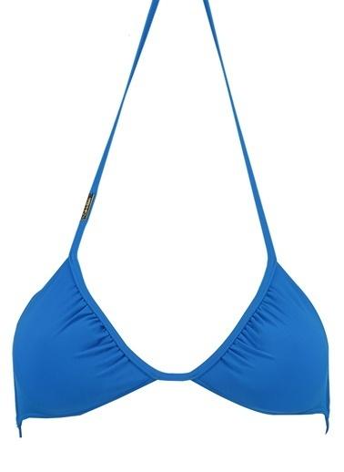 Calvin Klein Bikini Üst Mavi